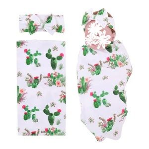 Other - Welcoming Swaddle set for hospital, cactus